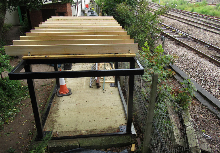 Signal box base designed and donated by