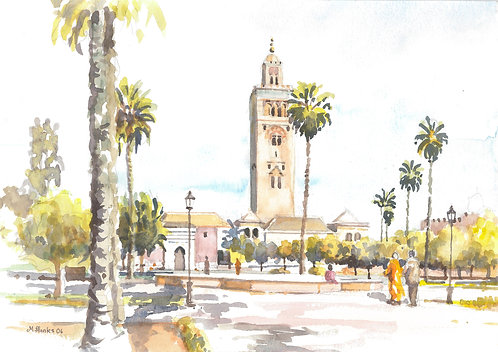 The Koutoubia Mosque, Marrakesh, 2006