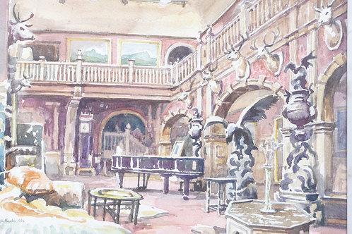 Great Hall of Kinloch Castle, Isle of Rum, 1996