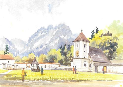 Červený Kláštor Monastery, 1989