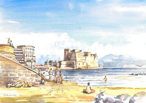 Castel dell'Ovo, Naples, 2012