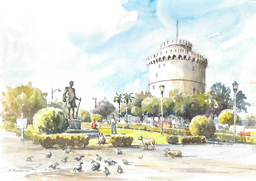 The White Tower of Thessaloniki, 2005