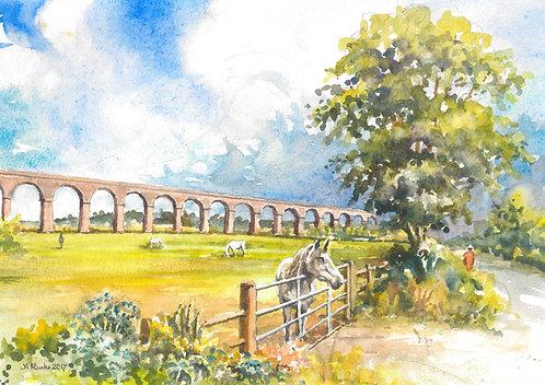 The Harringworth Viaduct, 2017
