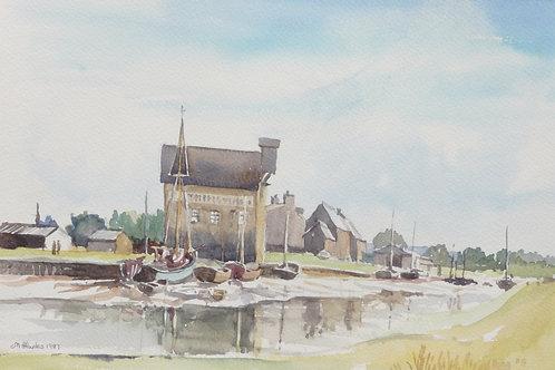 Faversham Creek, Kent, 1986