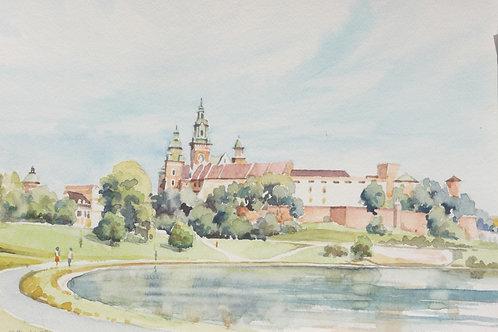 Krakow Castle, 1992