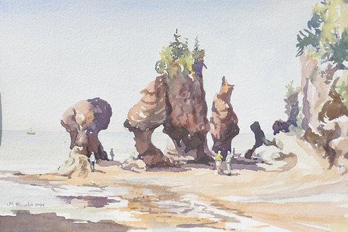 Hopewell Rocks,1999