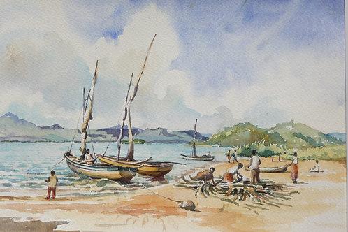 Dhous at Chikoli, Likoma Island, 2000