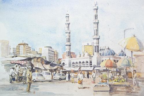 Sheikh Zayed Grand Mosque, Abu Dhabi,