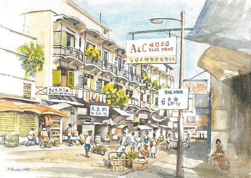 Old Kowloon street market