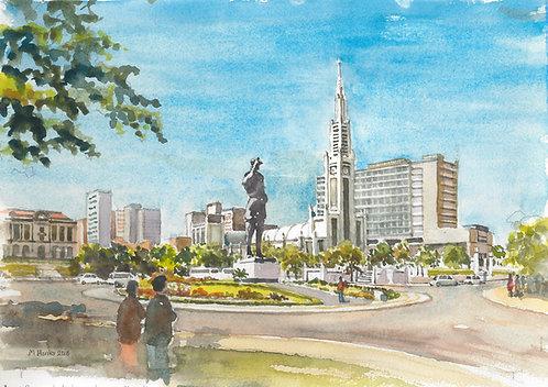 Praça da Independência, Maputo (B), 2000