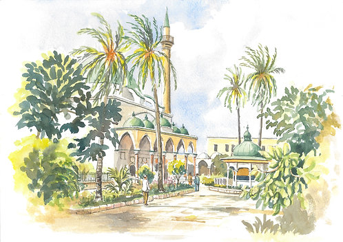 Al Jazzar Mosque, Akko, 1987