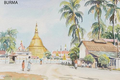 Botatuang Pagoda Rangoon, 1994