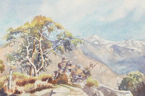 Kathmandu to Helambu Valley Pass, 1968