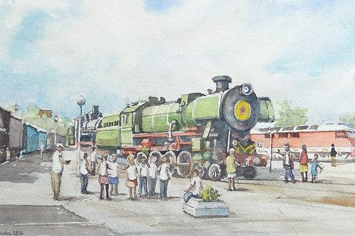 Railway Museum at Brest, 2016