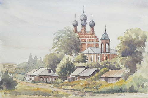 Old church, Moscow, 1963