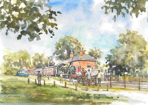 Statfold Barn Railway, near Tamworth, 2019