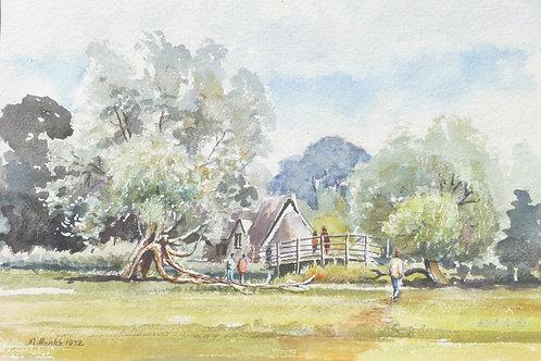 Flatford Mill, Suffolk, 1971