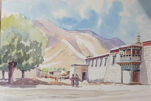 Samye Monastery, 1988