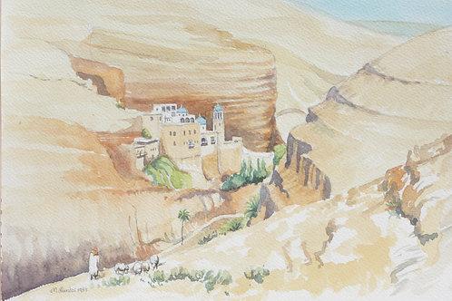 St. George Orthodox Monastery, Wadi Qelt, 1987