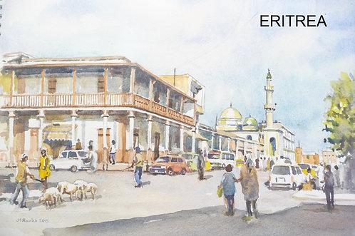 Central Mosque, Asmara, 2015