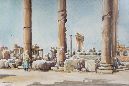 The Temple of Jupiter, Baalbek, 2010