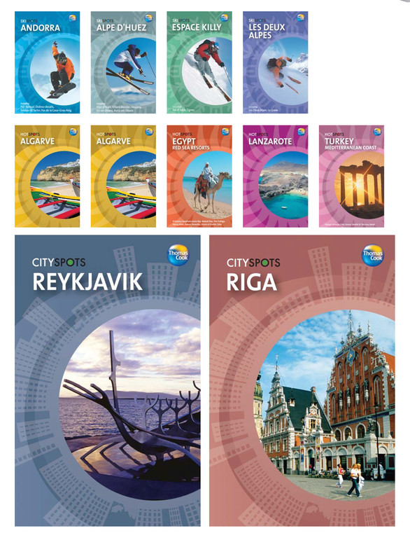 Thomas Cook, Ski Spots, Hot Spots and City Spots, guide book series