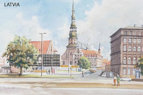 Dome Cathedral, Riga 1998