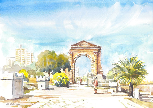 The Triumphal Arch at Tyre, 2018