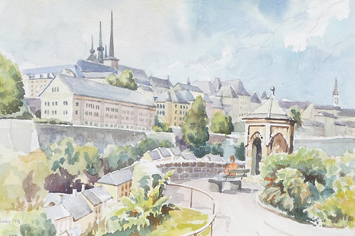 Luxembourg City, 1991