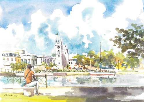 The Parliament Buildings, Bridgetown, 2013