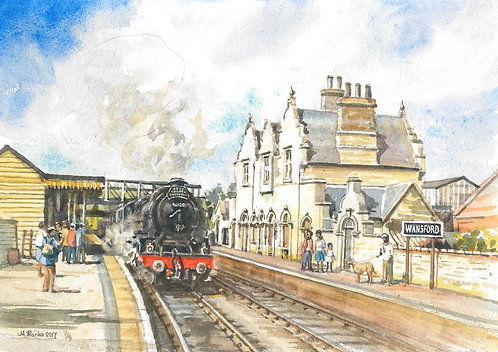 Wansford Station (B) - Nene Valley Railway