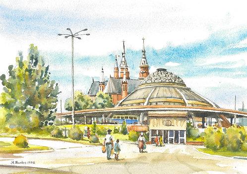 Kielce Bus Station, 1992