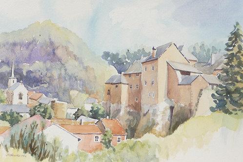 Château de Bourglinster, 1991