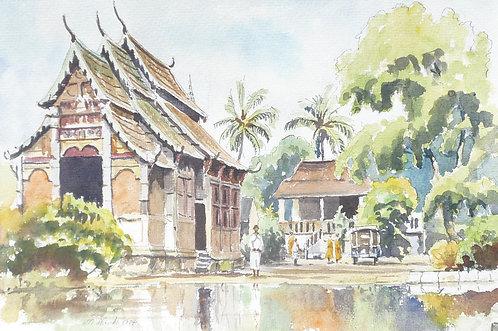 Chiang Mai Temple, 1974