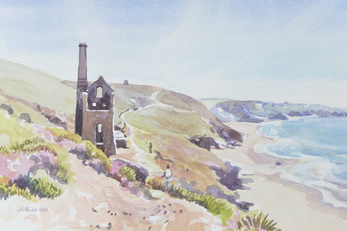 Wheal Coates old engine house, St Agnes