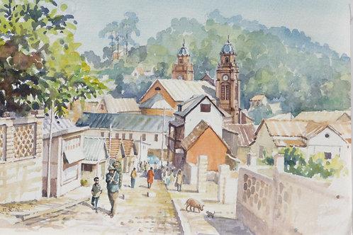 Ambositra street market, 2006
