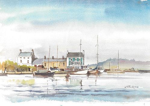 Glasson Dock, south of Lancaster, 1974