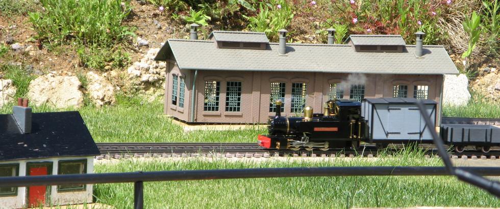 The Railworld Garden Railway on Glendale