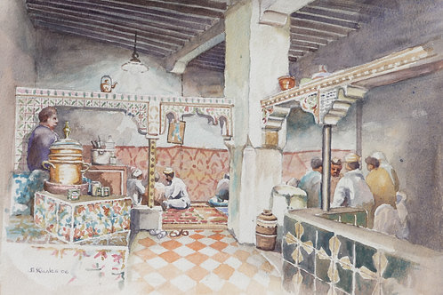 Tea House in Fes, 2006