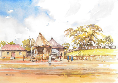 Okpwa, village near Wum, 2016
