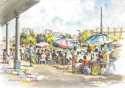 Maputo market day, 2006