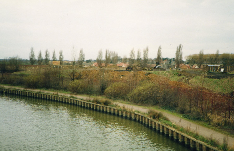 North bank of the River Nene at Railworl