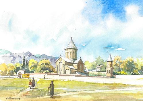 Samtavro Church, Mtskheta, 2004