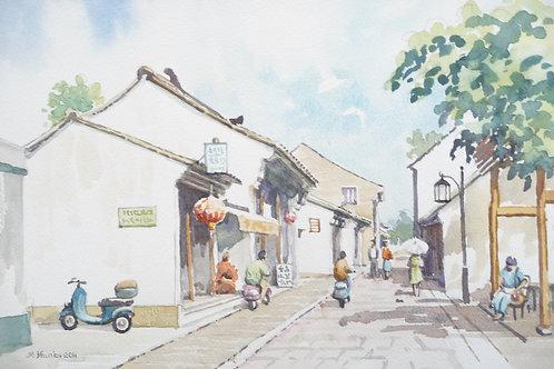 Street in Suzhou, 2011