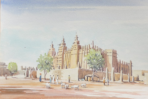 The Great Mosque of Djenné, 1992