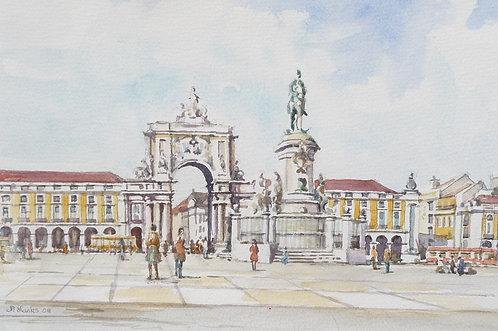 The Praça do Comércio, Lisbon, 2008