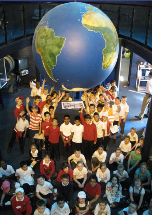 Children round World .png