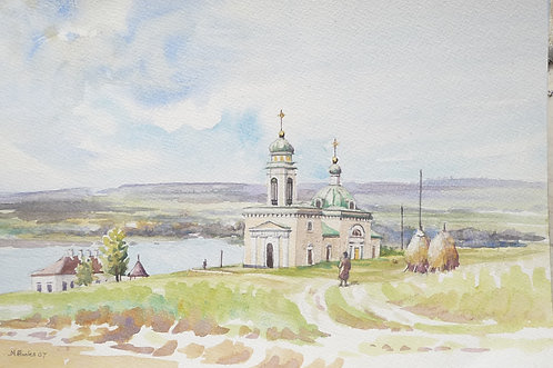 The Saint Alexander Nevsky Church at Khotyn, 2007
