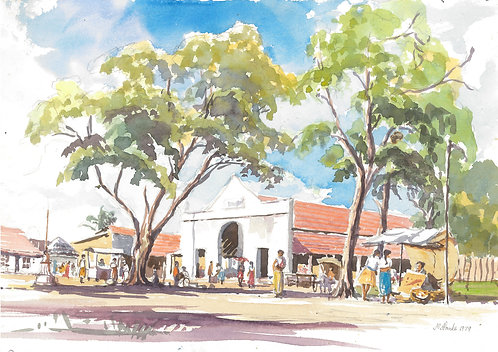 Fish Market Negombo, 1979