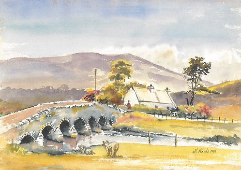 Bridge on road to Glencar, 1966